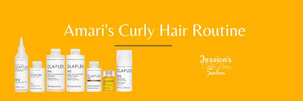 Amari's Curly Hair Routine